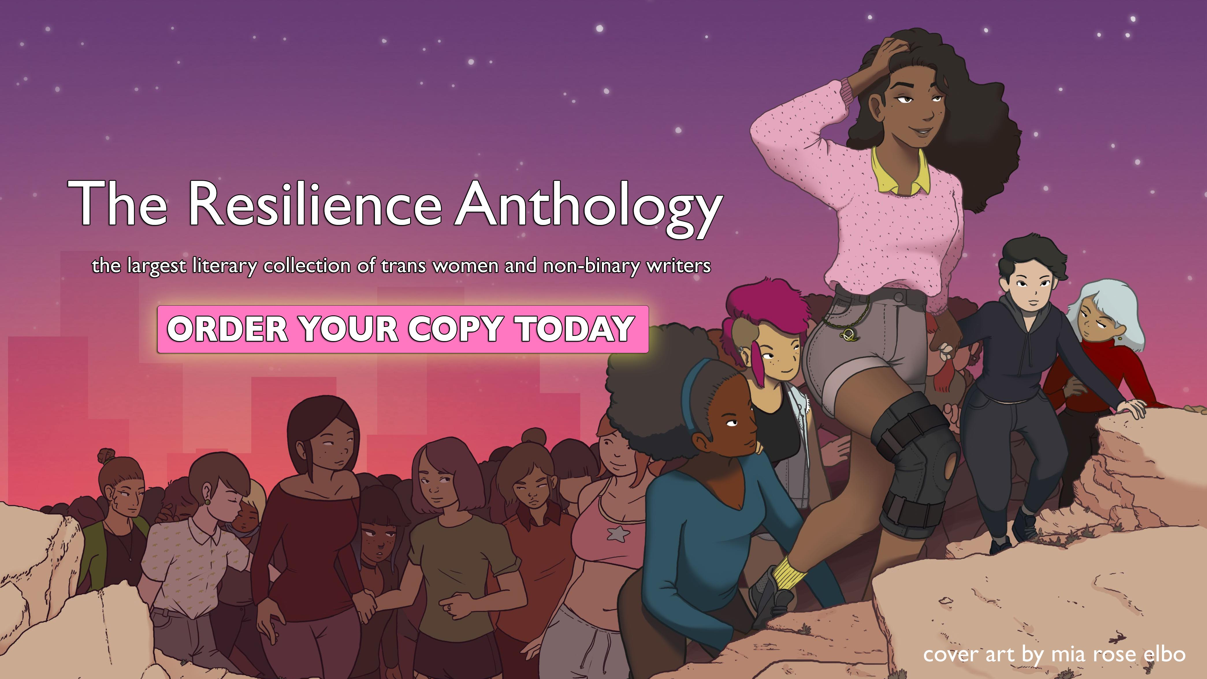 Buy the Resilience Anthology today